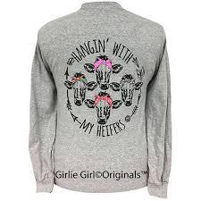 Girlie Girl Originals My Heifers Long Sleeve T-Shirt | Etsy