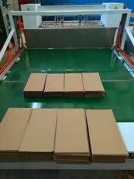 China Auto Corrugated Box Cardboard Creaser Slitter Machine For Box Making With Adjustable Fence Photos Pictures Made In China Com