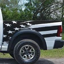 Distressed American Flag Grunge Stripes Side Bed Pickup Etsy