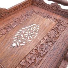 best vintage wooden serving trays