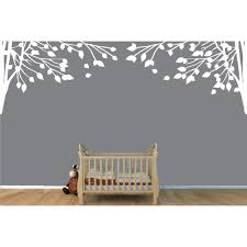 Double Corner Branch Wall Decals Tree For Play Rooms