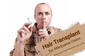 hair transplant smoking cans