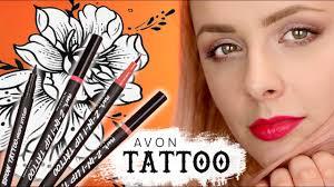 Tatuaze W Pisaku Do Brwi I Ust Avon Mark Test Na Zywo