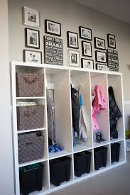 Getting Organized With Lockers For The Kids Ikea Hack Diy Locker Ikea Storage Hallway Storage