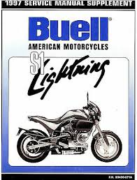 1997 buell s1 lightning motorcycle