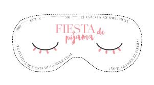 Invitacion De Fiesta De Pijama Descargable Clarabmartin