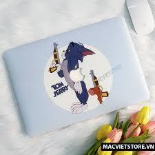 Ốp Macbook In Hình Tom Và Jerry