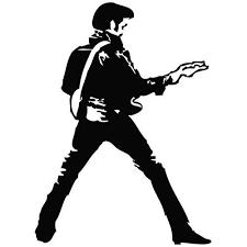 Elvis Presley Guitar Dance Decal Sticker Vinyl Car Wall Laptop Cellpho Mymonkeysticker Com