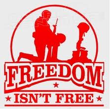 Freedom Isn T Free Decal Sticker Dm Decalmonster Com