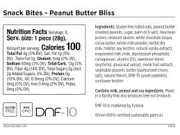 peanut er bliss snack bites