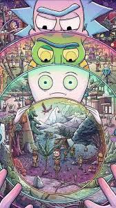rick and morty hd wallpapers top free