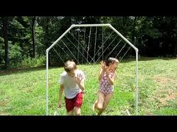 homemade water park with pvc