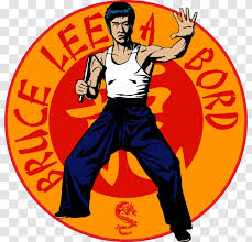 Sticker Decal Adhesive Film Art Bruce Lee Transparent Png