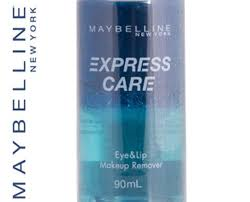 maybelline 90ml makeup remover eye lip