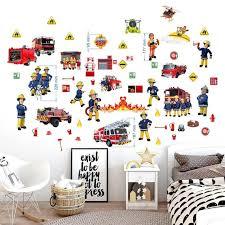 fireman sam wall decal mural kids room