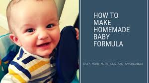 easy and affordable goat milk baby formula