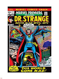 Marvel Premiere No 3 Cover Dr Strange Wall Decal Barry Windsor Smith Allposters Com