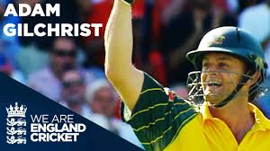 Adam Gilchrist Dismantles England at The Oval | England v Australia ODI  2005 - Highlights - YouTube