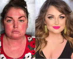 russian makeup artist before and after