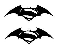 Custom 4 X5 Superman Vs Batman Vinyl Decal Sticker Laptop Tablet Iphone Cell
