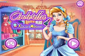 cinderella fashion makeover make up