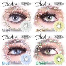 Produk Unggulan Softlens Dreamcon / Dream Color Adeline Green (Hijau)  Trendi   Shopee Indonesia