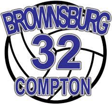 Brownsburg Volleyball Car Decal L M Spirit Gear