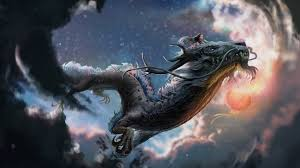 chinese dragon art picture