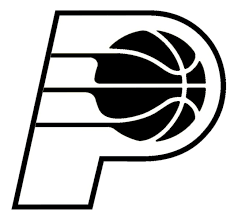 Indiana Pacers Outline Die Cut Vinyl Graphic Decal Sticker Nba Basketball