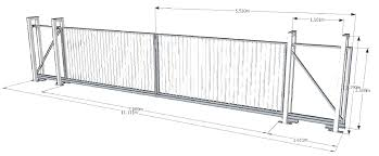 Gate Designs Gate Design Cad Drawing