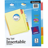 insertable tab dividers zerbee