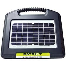 Amazon Com Patriot Solarguard 155 Fence Energizer 0 15 Joule Pet Supplies