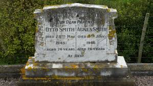 Otto and Agnes Smith Graves Stone