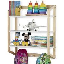 Nursery Decor Kids Bookshelf Toy Storage