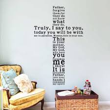 God Quote Wall Decal Sticker Christian Religious Cross Wall Art Home Decor Kid Wall Decals Kid Wall Stickers From Oopp 22 34 Dhgate Com