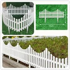 7 32m 24ft Garden Border Fencing Fence Pannels Outdoor Landscape Decor Edging Yard 12 Pack Walmart Com Outdoor Landscaping Landscape Decor Garden Borders