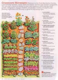a backyard vegetable garden plan for an