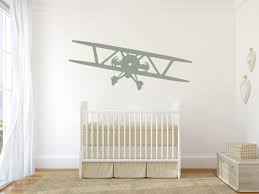 Wall Decal Airplane Nursery Aviation