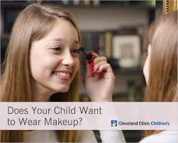 does your child want to wear makeup 5