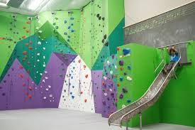A Small Top Out Boulder And Slide In The Kids Climbing Room Picture Of Onsight Rock Gym Knoxville Tripadvisor