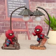 Hot Spiderman Led Night Light Resin Spider Man Lamp For Children Kids Rooms Home Left Decor Birthday Christmas Gifts Night Lights Aliexpress