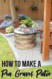 How To Make A Pea Gravel Patio In A Weekend The Handyman S Daughter