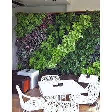 vertical indoor garden green wall set