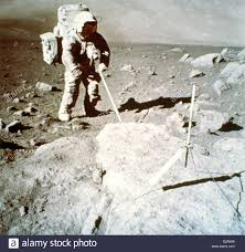 Space Astronauts On Moon Black And White Stock Photos & Space ...