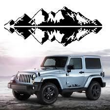 76x16cm Snow Mountain Car Stickers Vinyl Decal Auto Body Truck Tailgate Window Door Universal Sale Banggood Com