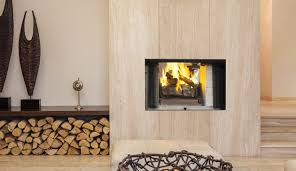 wood burning fireplace design