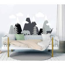 Shop Mountains Woodland Wall Decal Overstock 31585060