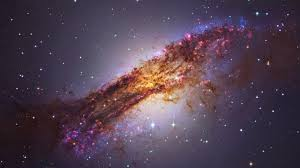 galaxy stars nebula planet centaurus