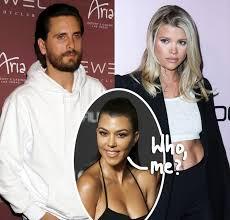 Kourtney Kardashian Played A Role In Scott Disick & Sofia Richie's ...