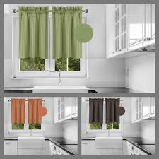 Microfiber Window Valance Rod Pocket Nursery Kids Room Bedroom Decor Hang R16 Ebay